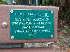 Bench provided by SKA
